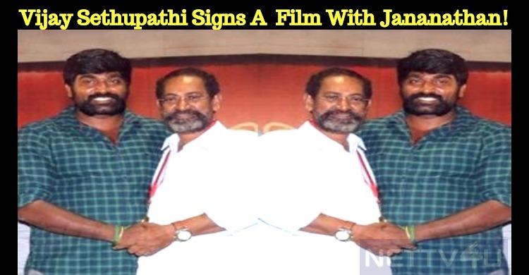 Vijay Sethupathi Signs A New Film With Jananath..