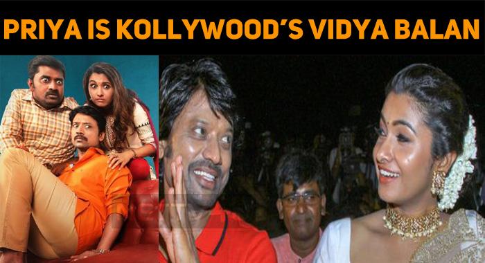 Priya Bhavani Shankar Is Kollywood's Vidya Bala..