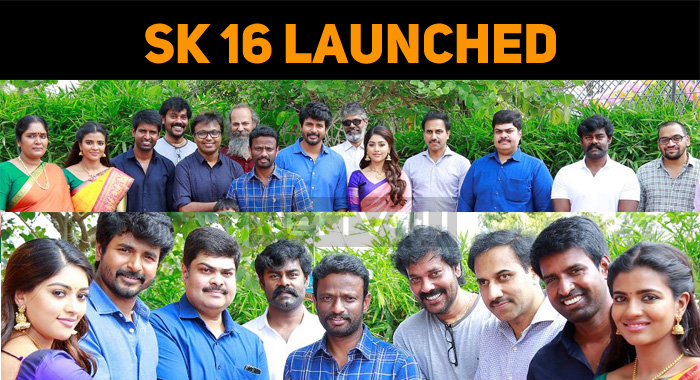 Sivakarthikeyan's Next Movie Launched! Shooting..