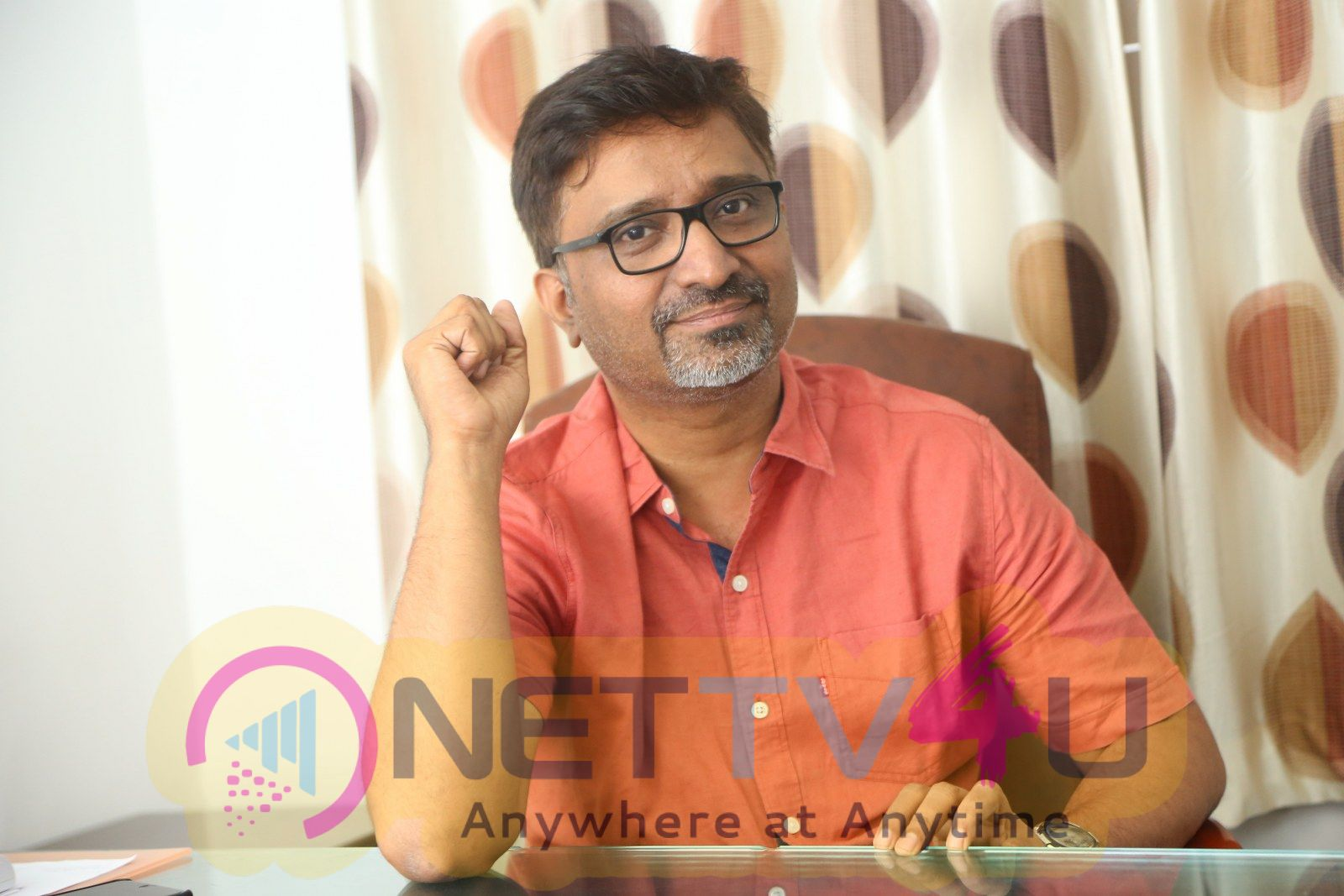 Director Mohan Krishna Indraganti Interview Images