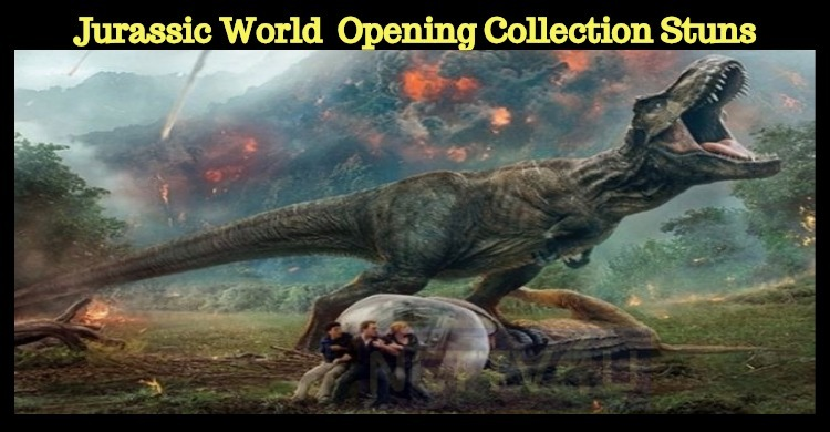 Jurassic World Fallen Kingdom's Opening Collection Is Stunning!