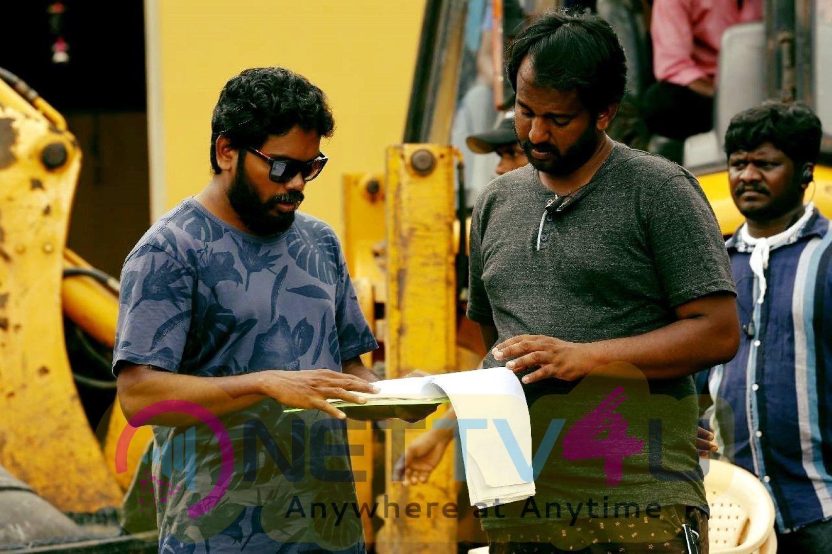 Kaala Movie Working Stills  Tamil Gallery