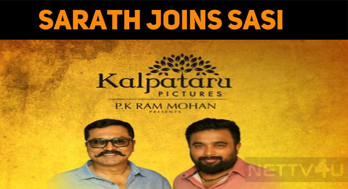 Sasikumar Joins Sarathkumar!