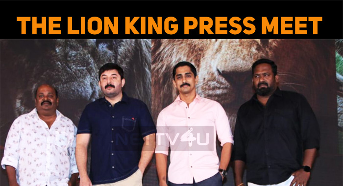 The Lion King Press Meet!