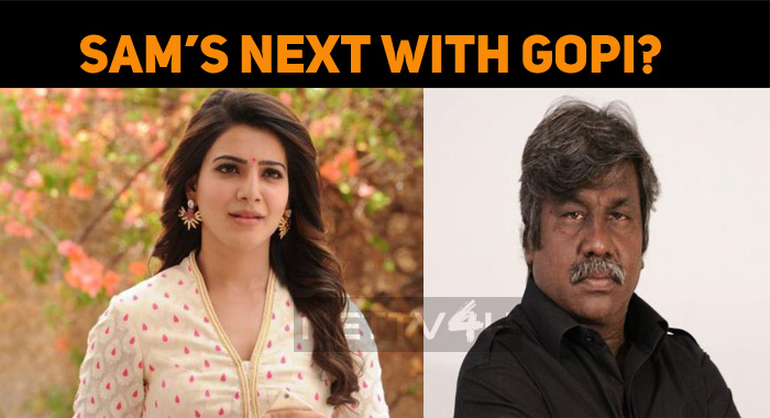 Will Samantha Join Kartavyam Director?