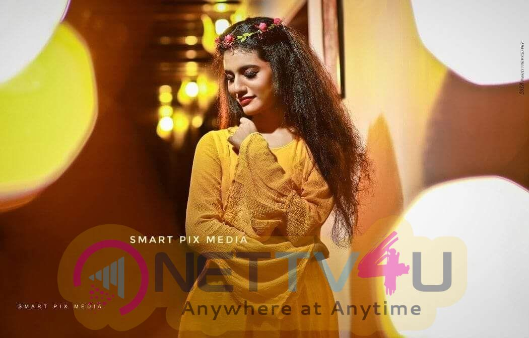 Actress Priya Prakash Varrier Charming Stills Malayalam Gallery
