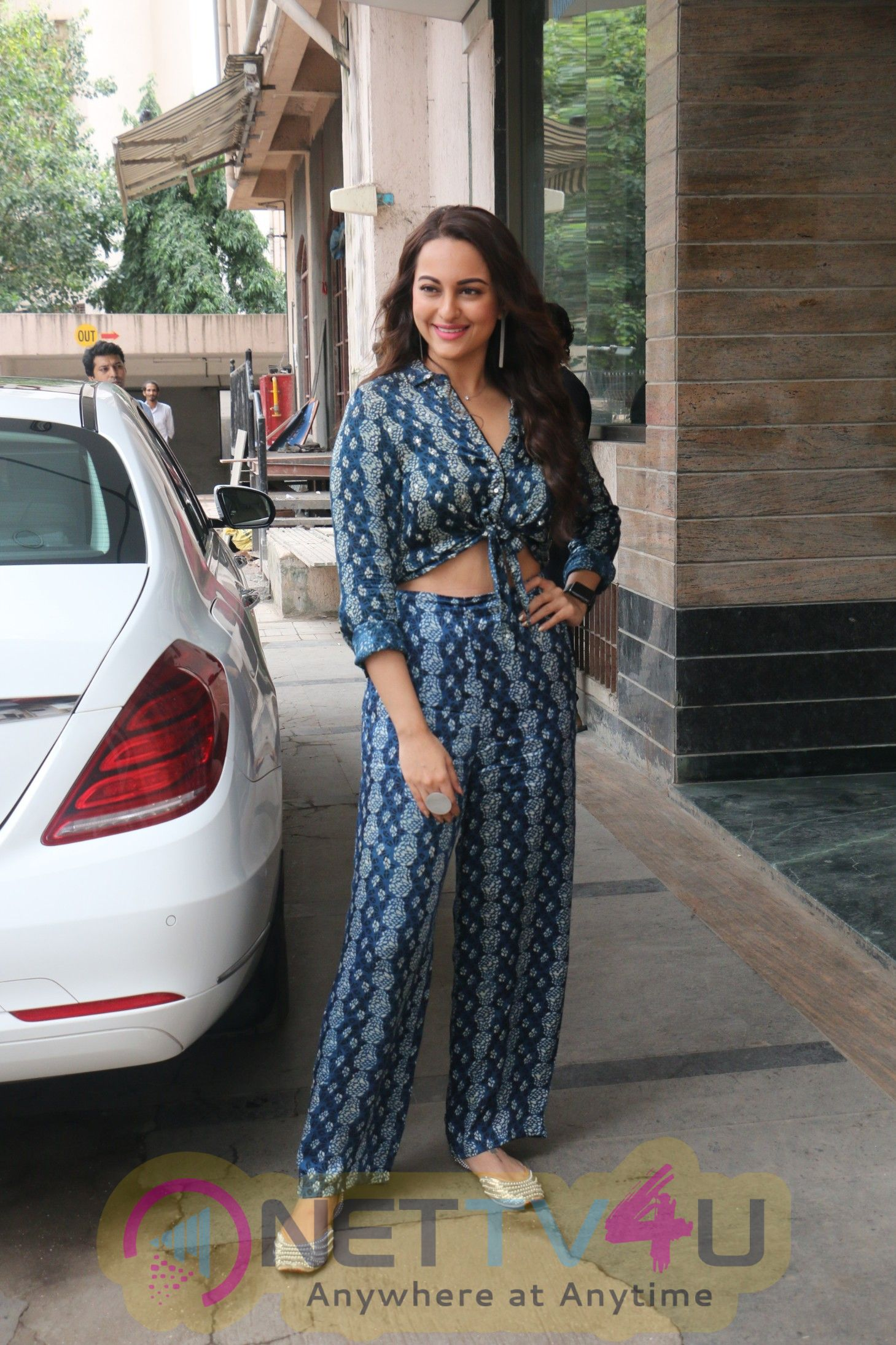 Sonakshi Sinha & Jimmy Shergil For The Media Interactions Of Film Happy Phir Bhag Jayegi Stills Hindi Gallery