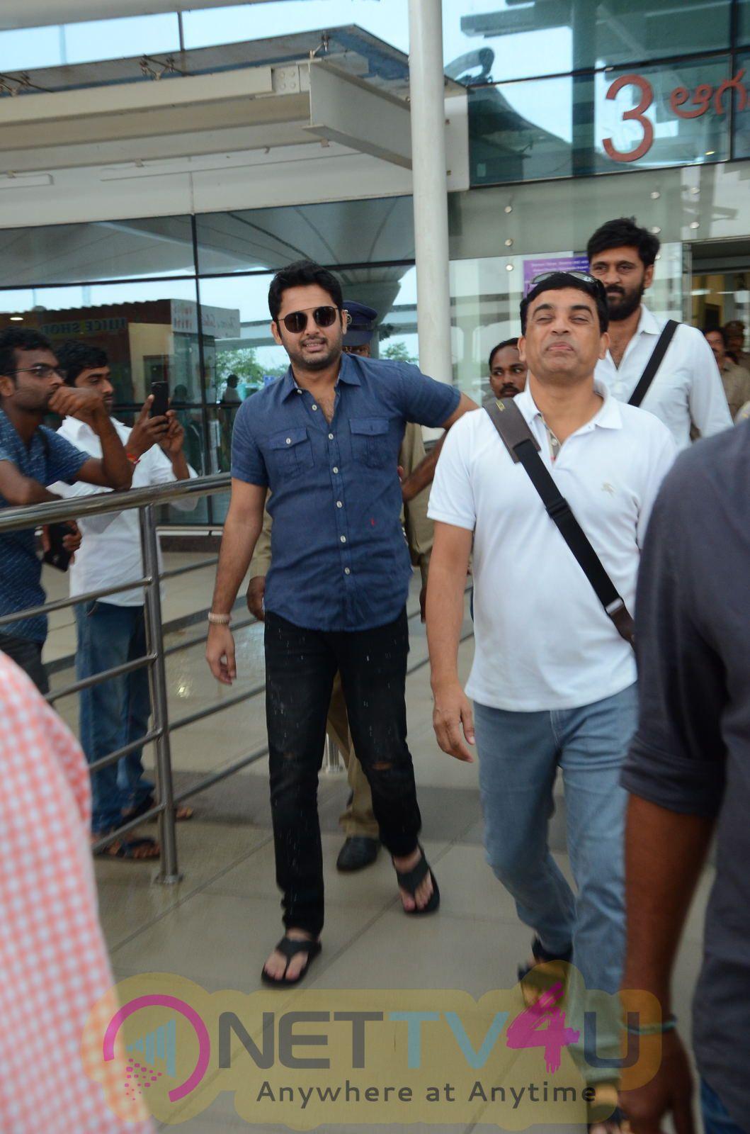 Srinivasa Kalyanam Movie Team Dwaraka Tirumala Visit Pics