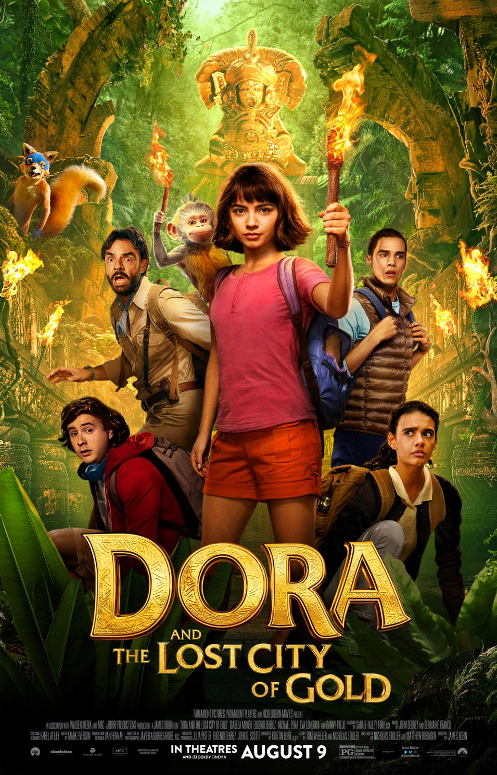 Dora And The Lost City Of Gold Movie Review English Movie Review