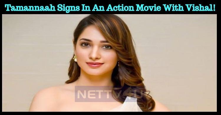 Tamannah Signs In An Action Movie With Sundar C!