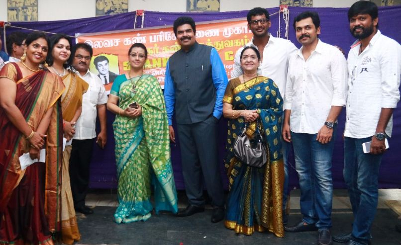 Cricketer Srikanth At Nadigar Sangam!