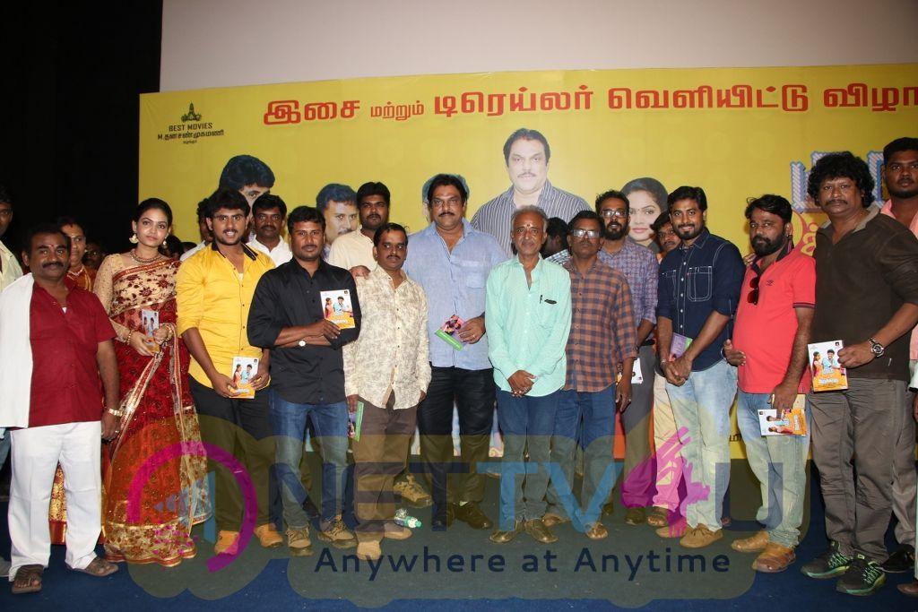 Guru Uchaththula Irukkaru Movie Audio & Trailer Launch Stills