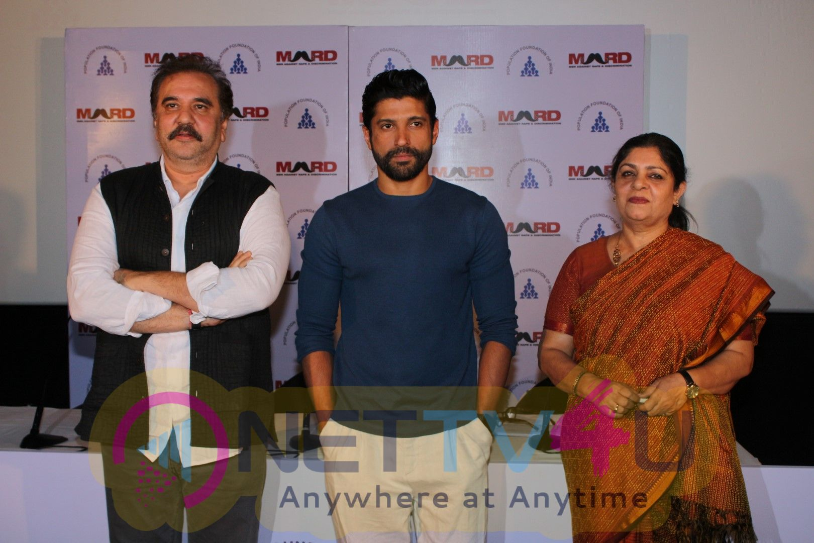 Pc Of Bas Ab Bahut Ho Gaya Campaign & Concert With Farhan Akhtar Pics Hindi Gallery