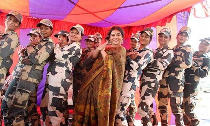 Vidya Balan Stopped By The Frontier Security Force!