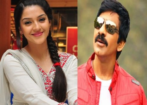 After Nani It Is Ravi Teja For Mehrene!