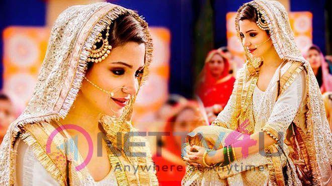 Actress Anushka Sharma Bridal Look Hindi Gallery