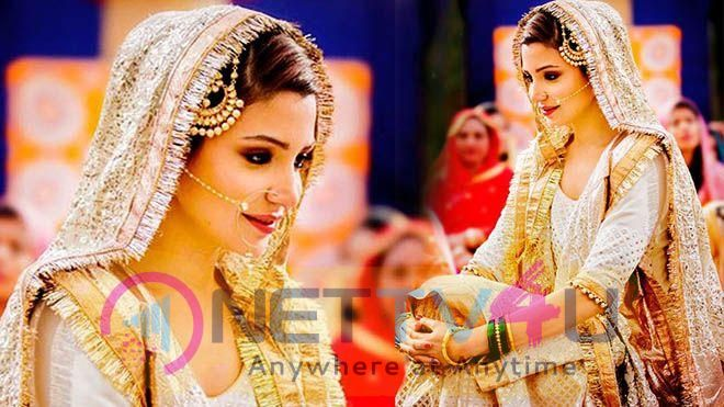 Actress Anushka Sharma Bridal Look