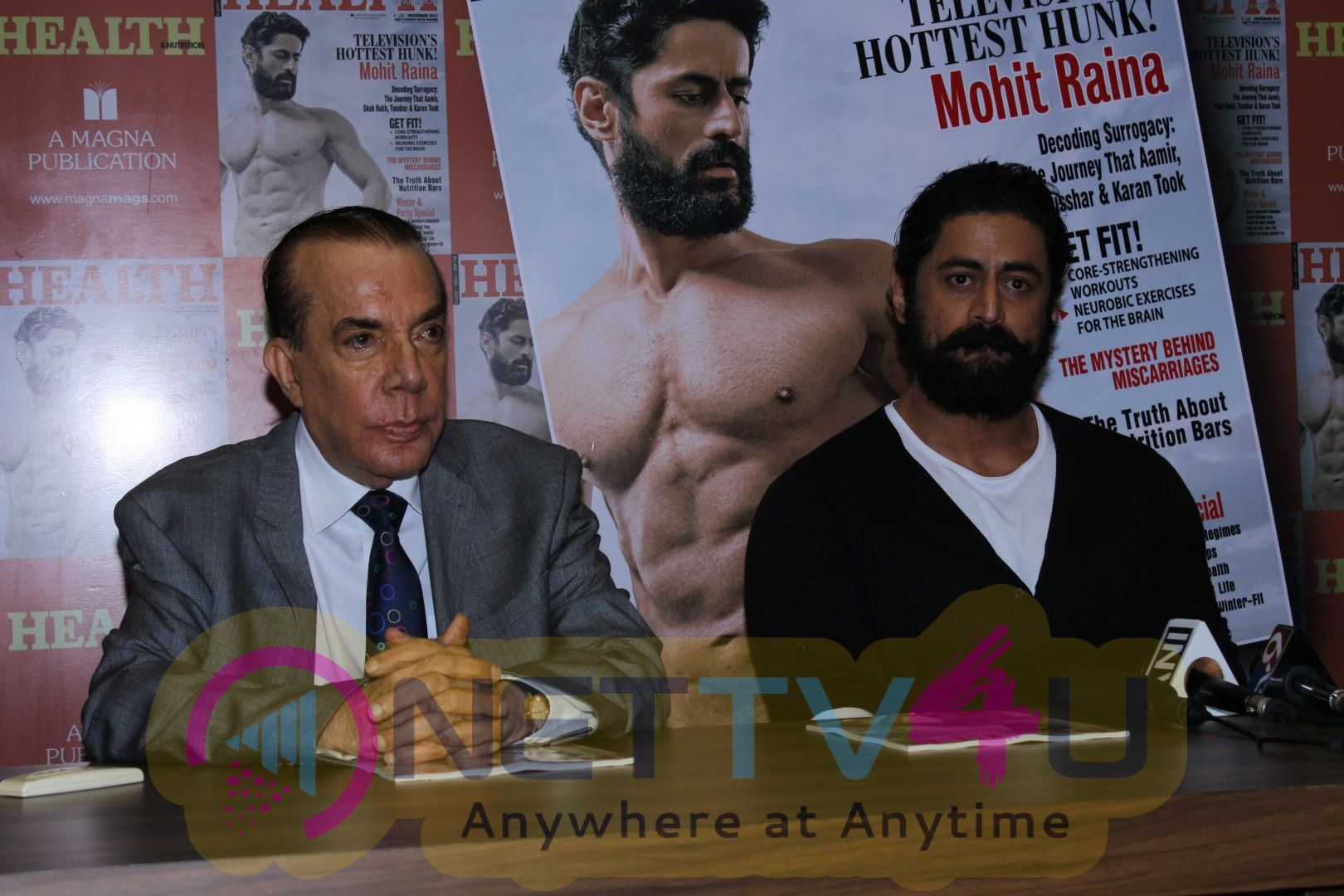 Mohit Raina On Cover Page Of Health & Nutrition Magazine Stills Hindi Gallery