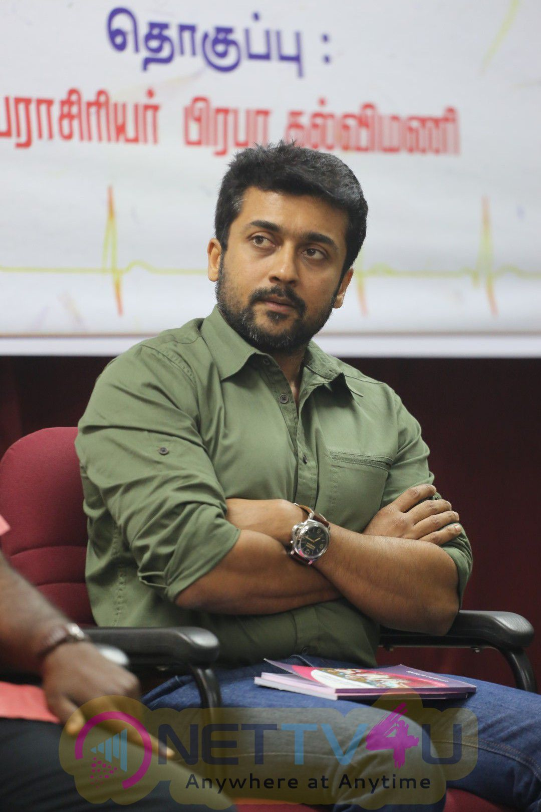 Actor Suriya At NEET Book Function Photos