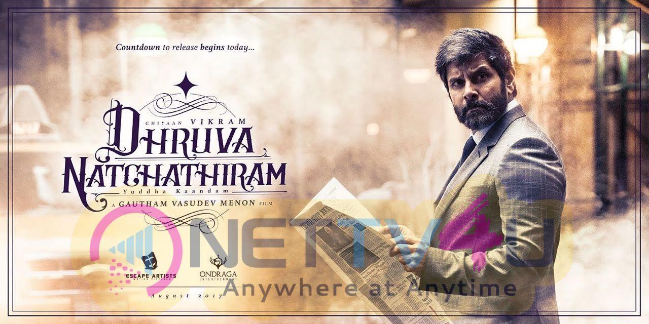 Dhruva Natchathiram Movie First Look Poster