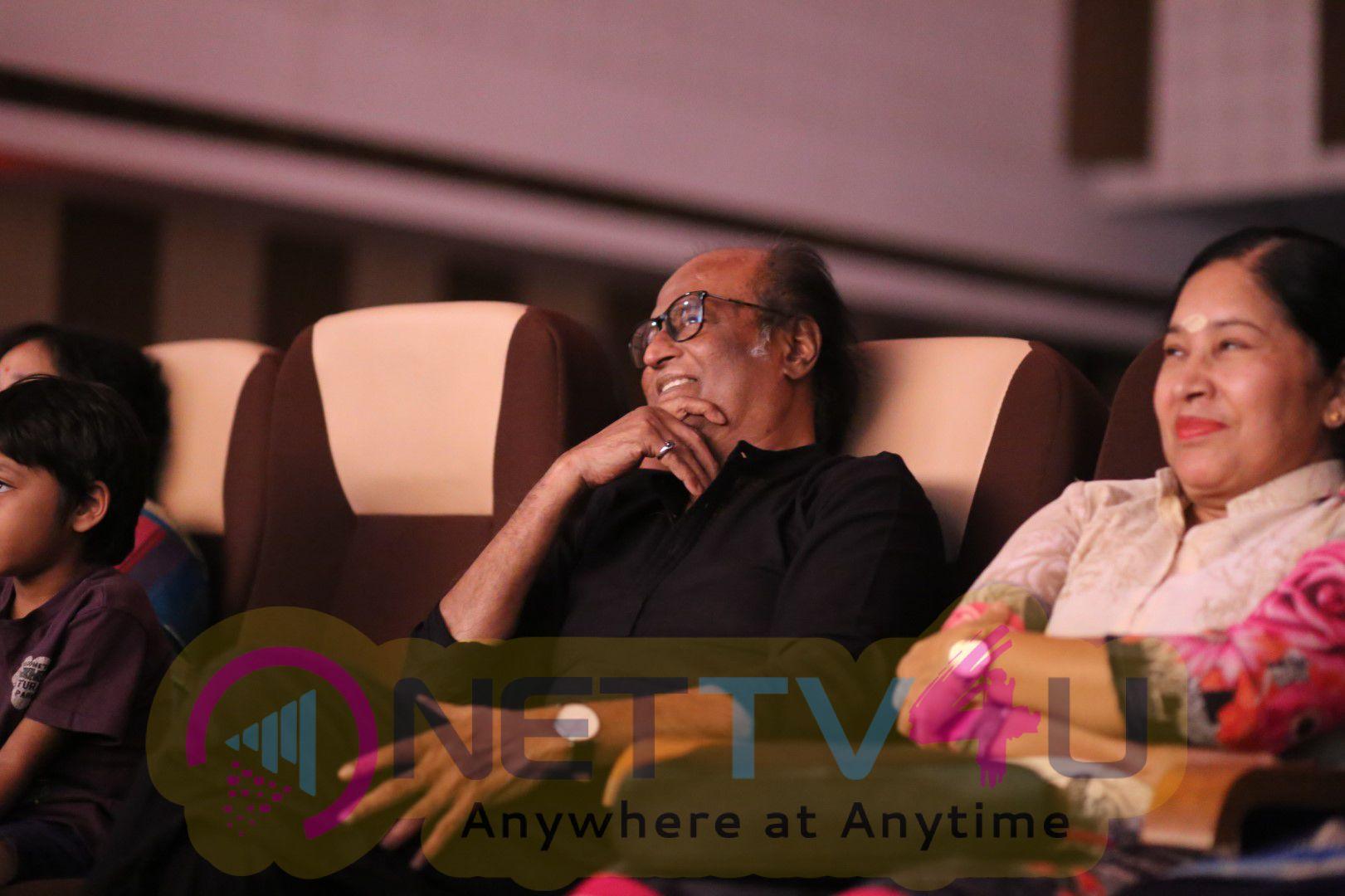 Superstar Rajinikanth At YGM's Kasethan Kadavulada Stage Show Stills