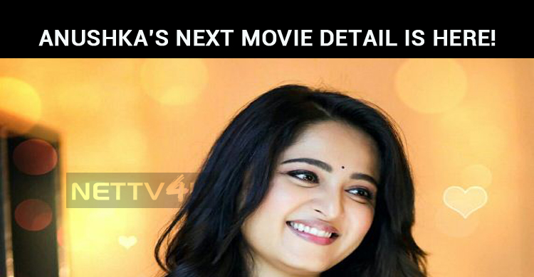 Anushka's Next Movie Detail Is Here!