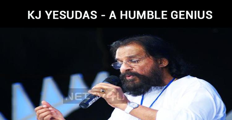 KJ Yesudas - We Call Him The Legend, But He Calls Him A Student