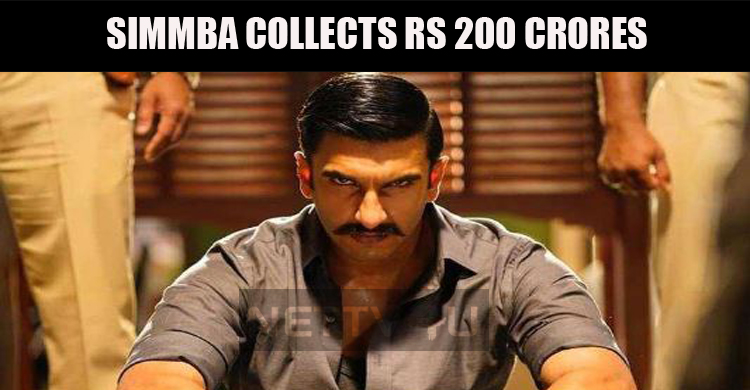 Simmba Crosses Rs 200 Crore Mark!