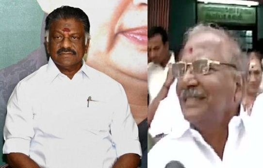ADMK Presidium Chairman Madhusudhan Extends His Support To OPS!