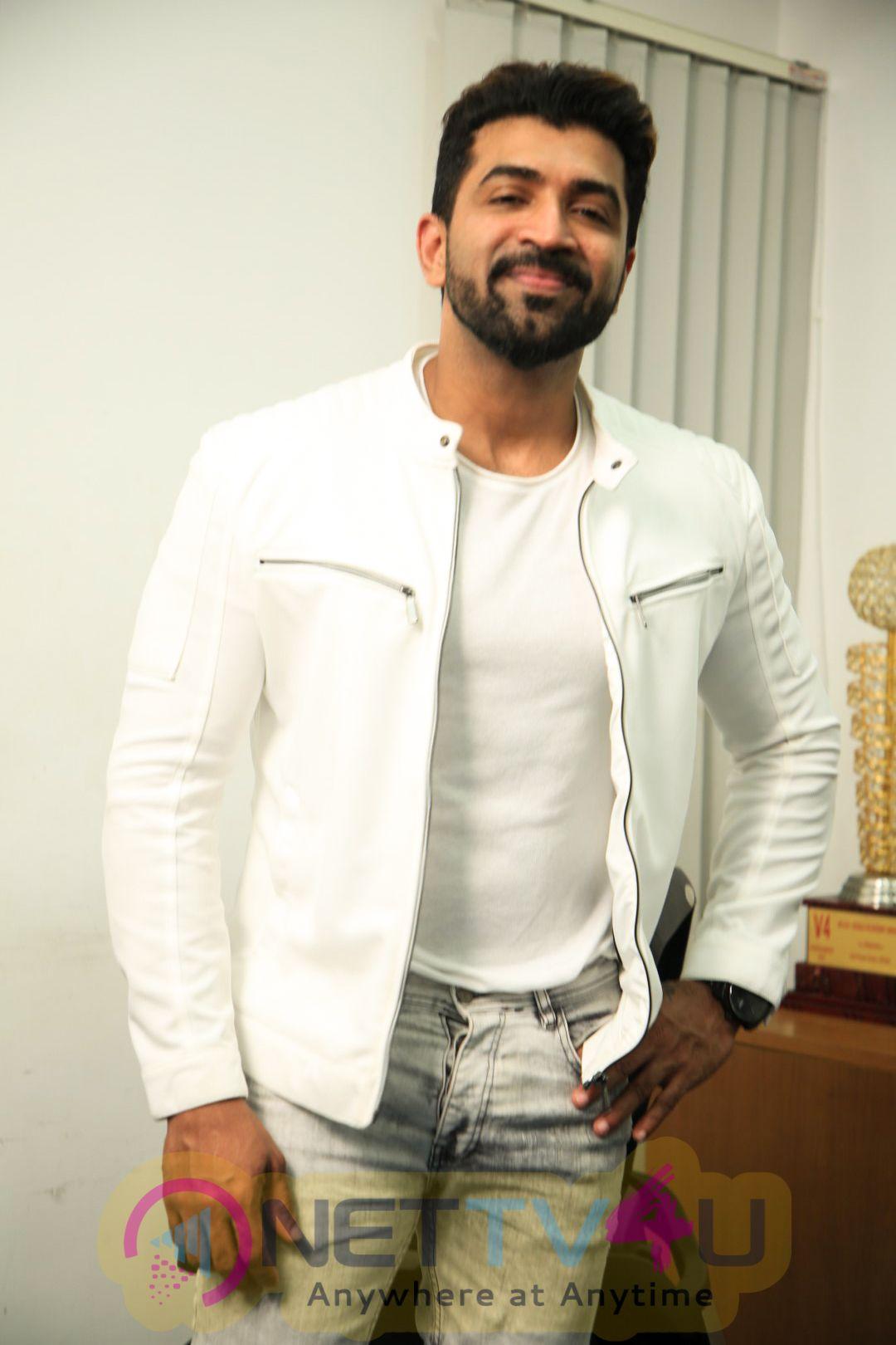 Actor Arun Vijay Exclusive Interview Stills Tamil Gallery