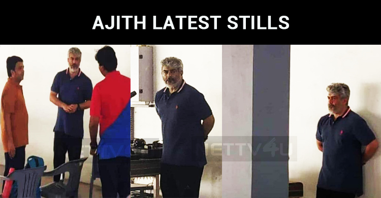 Ajith's Latest Stills Spread Virally Over The I..