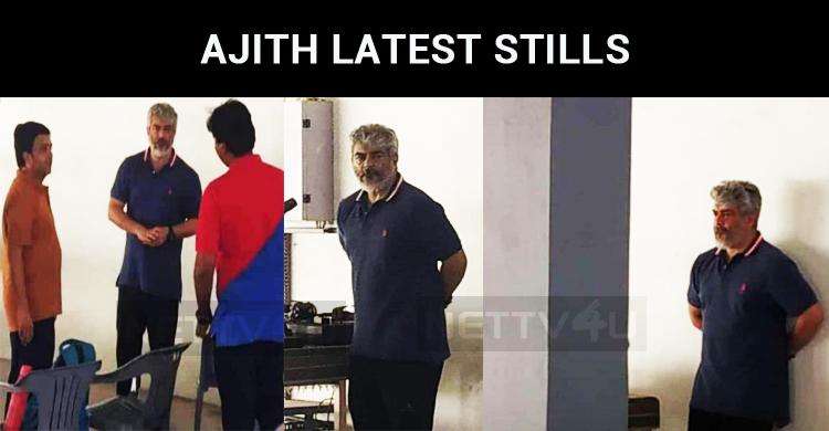 Ajith's Latest Stills Spread Virally Over The Internet!