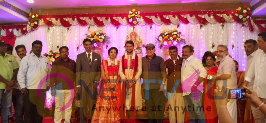 Director E Ramadass Son Marriage Photos  Tamil Gallery