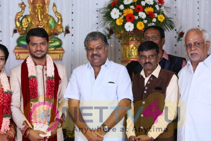 Director E Ramadass Son Marriage Photos  Tamil Gallery