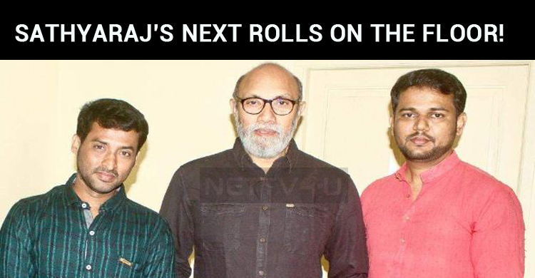 Sathyaraj Next Rolls On The Floors!