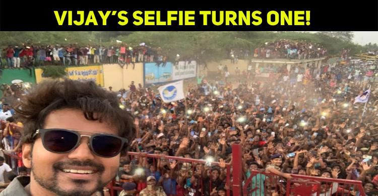 Vijay Fans Celebrate First Anniversary – Master Selfie!