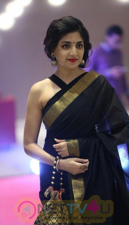 Actress Poonam Kaur New Saree Stunning Photos