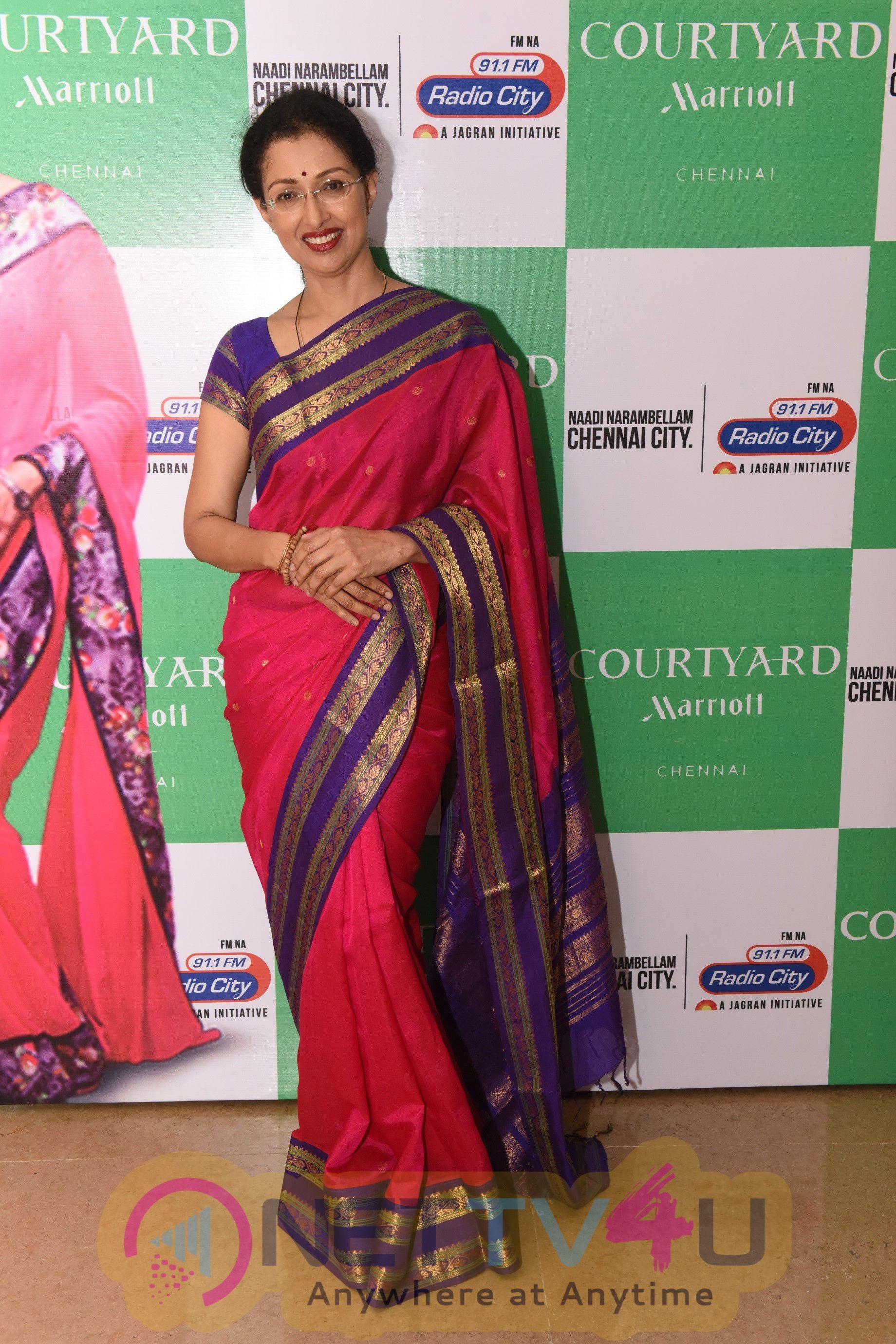 Stills Of Actress Gautami At Womens Day At Courtyard By Marriott Chennai