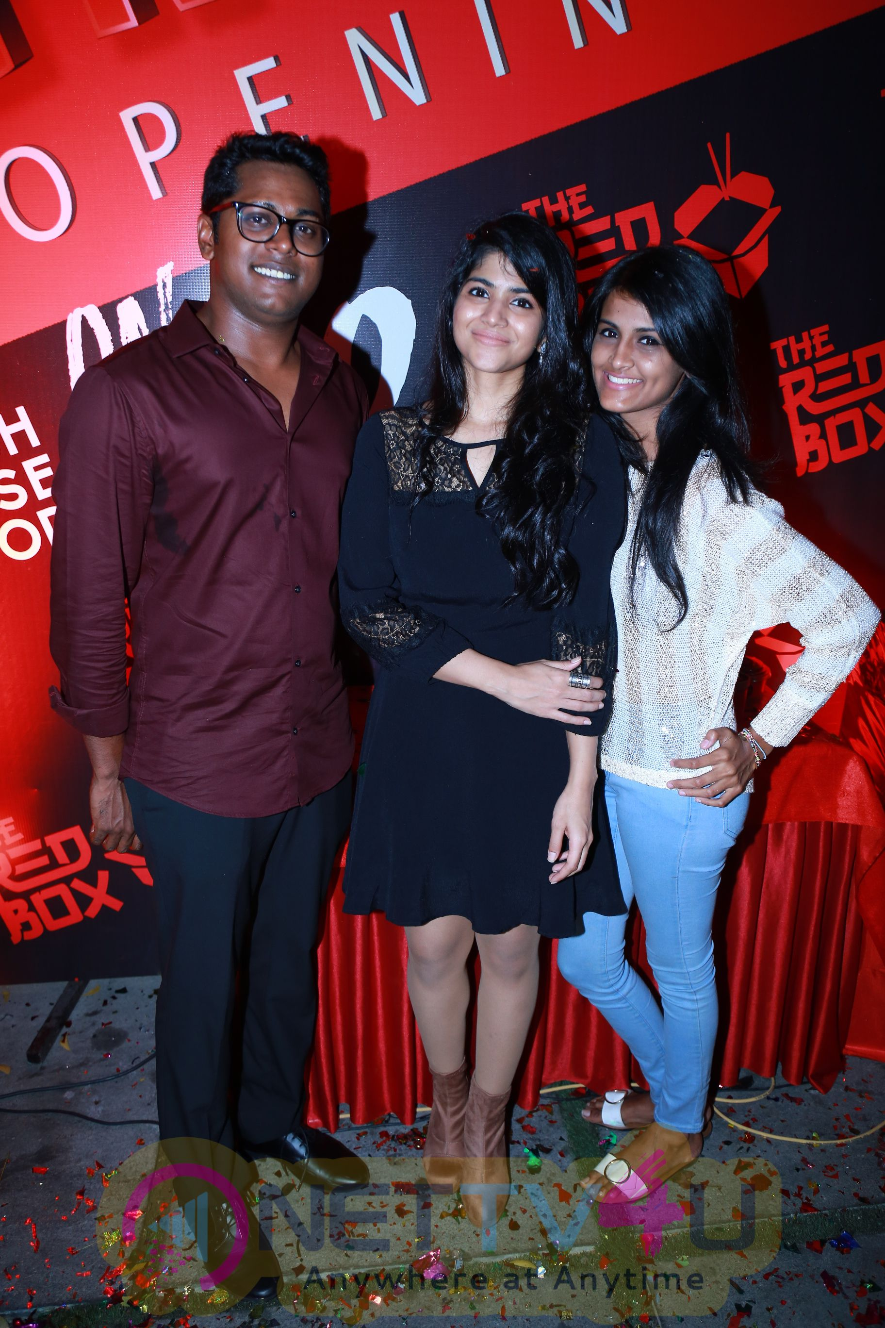 Stills Of Megha Akash At The Launch Of The Red Box Soups And Momos