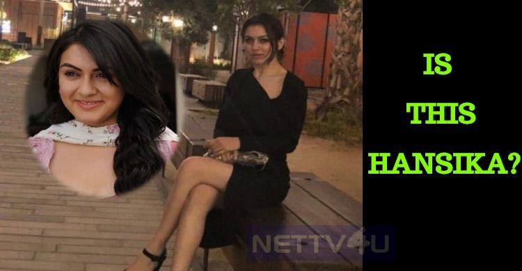 Is This Hansika? Fans In Shock!