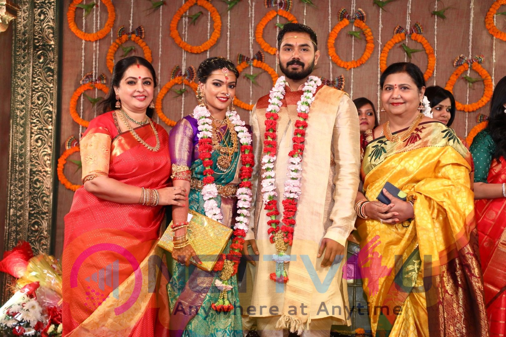Parthiban Daughter Keerthana And Akshay Wedding Images