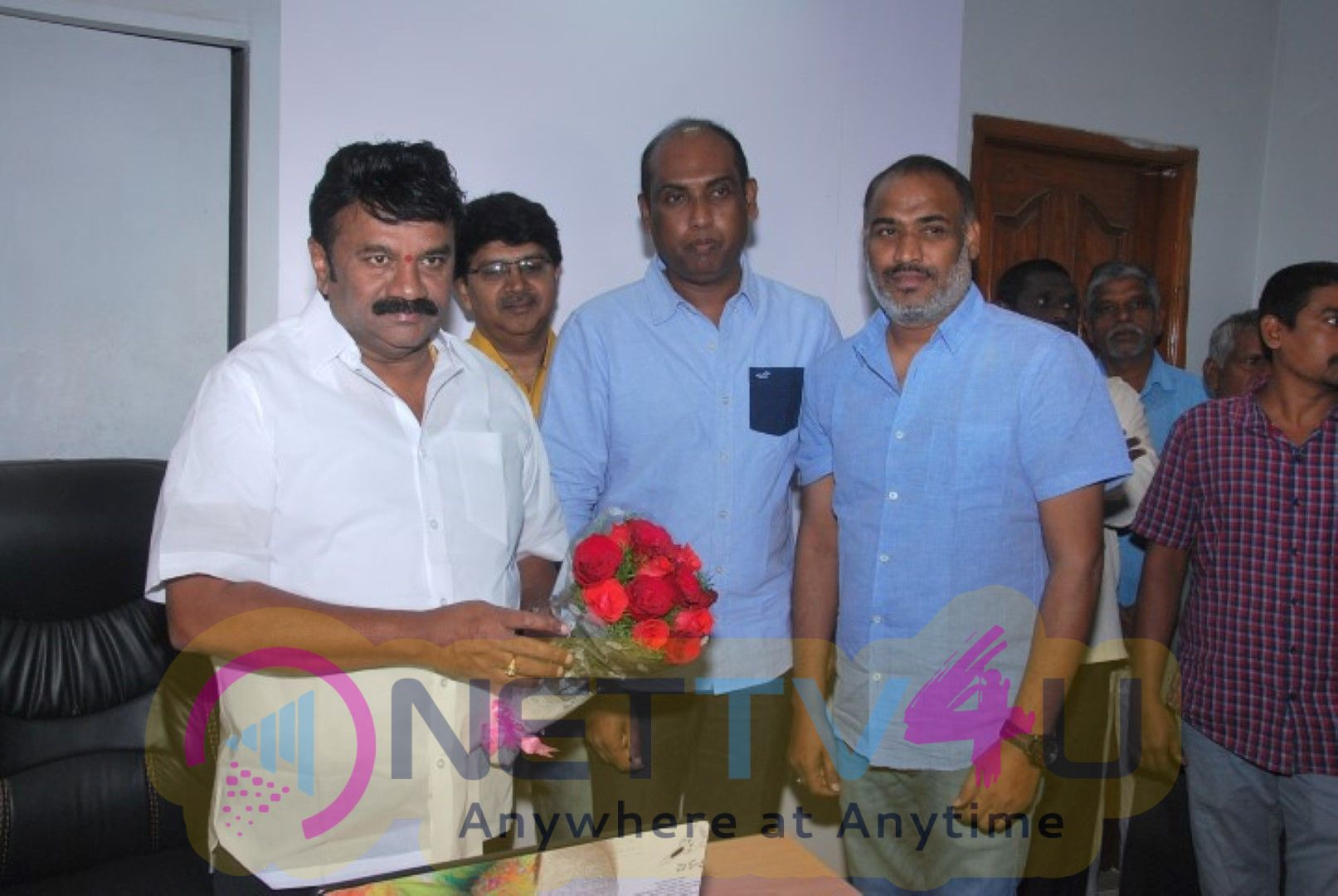 Talasani Srinivas Yadav Garu Releases 'Aithe 2.0' Theatrical Trailer Launch Stills