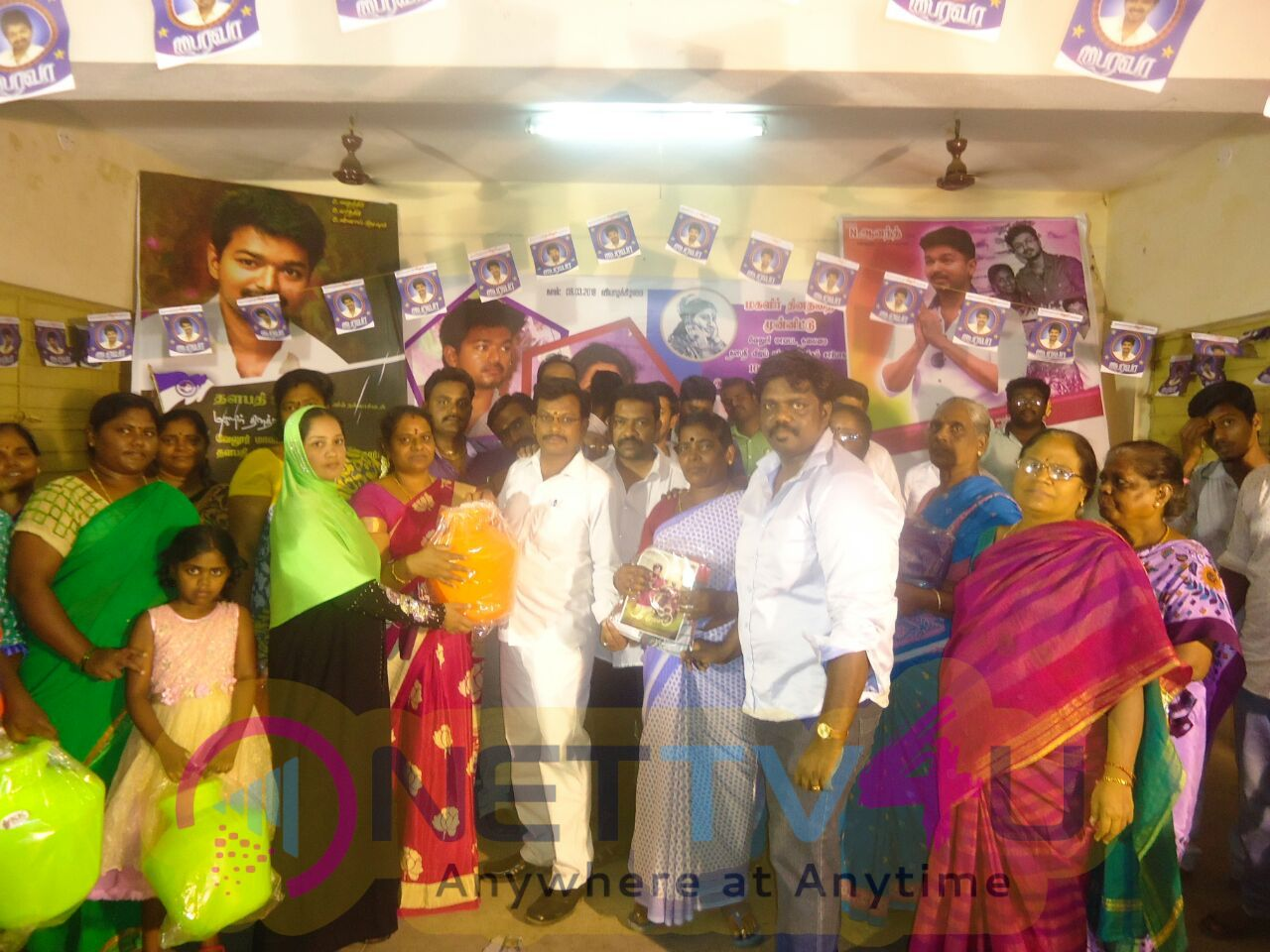 Vijay Fans Welfare Activities On Women's Day At Vellore  Pics