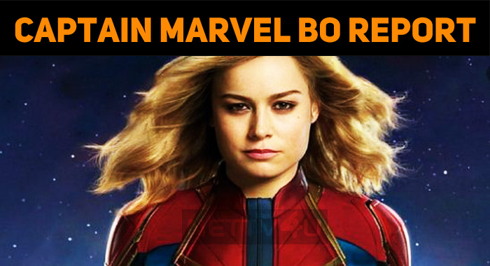 Captain Marvel Collects A Lump Sum On Day 1!
