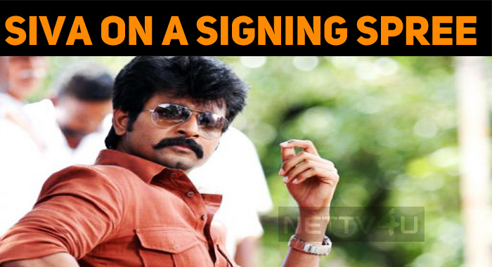 Sivakarthikeyan Is On A Signing Spree!