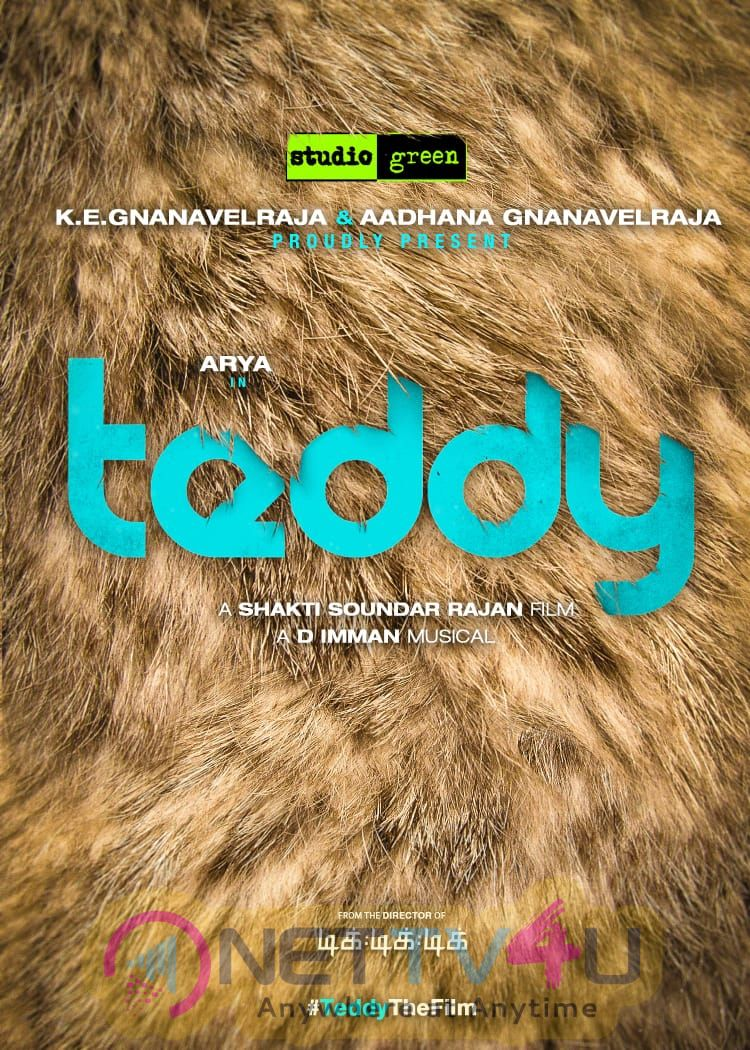 Teddy Movie Posters Tamil Gallery