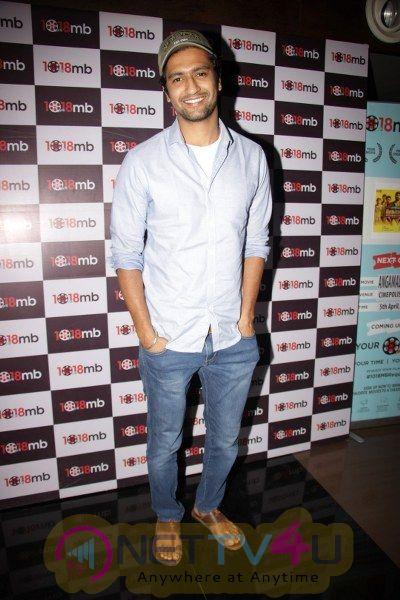 Bejoy Nambir Hostin A Screening Of Angmaali Diaries