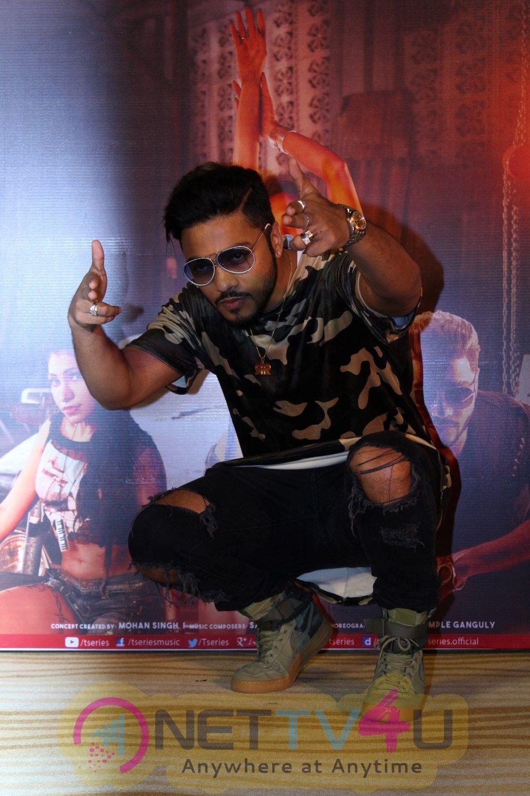 Raftaar & Tulsi Kumar At The Launch Of Single Song Mera Highway Star