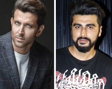 Hrithik Roshan And Arjun Kapoor In Upcoming Fli..