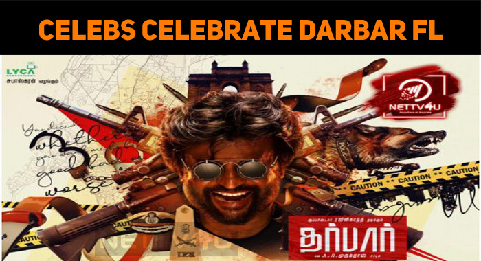 Celebs Celebrate Darbar First Look!